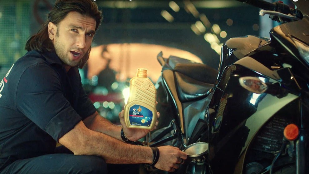 HP Lubricants ropes in Ranveer Singh to help take HP Racer to their customers.